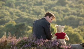 Ewan McGregor and Winnie-The-Pooh in the live-action film
