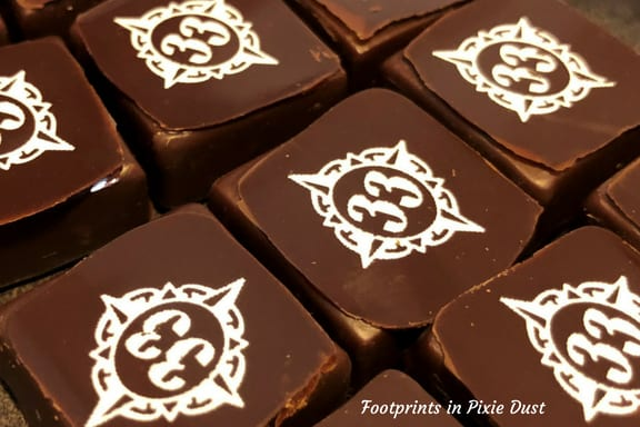 Club 33 chocolates ~ Photo credit: Tina M. Brown