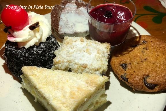 Desserts at Biergarten ~ Photo credit: Tina M. Brown