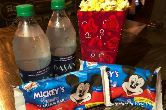 Some of Disney After Hours snack options