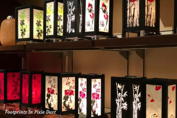 Chinese lanterns found at Epcot