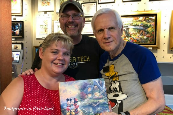 Meeting Dirk Wunderlich at Epcot
