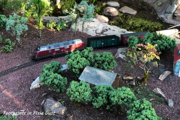 Miniature train village at Epcot ~ Photo credit: Tina M. Brown