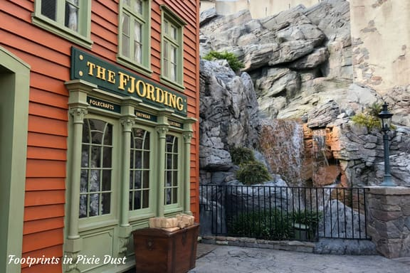 The Fjording in Norway Pavilion at Epcot