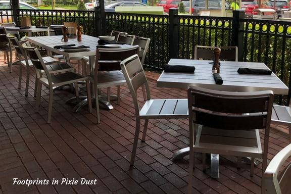 Outside Marlow's Tavern ~ photo credit: Tina M. Brown