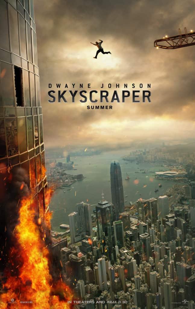 Dwayne Johnson in Skyscraper