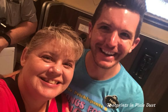 Selfie with Tyler ~ Photo credit: Tina M. Brown