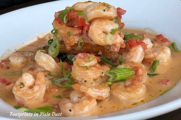 Shrimp & Grits from Marlow's Tavern ~ photo credit: Tina M. Brown