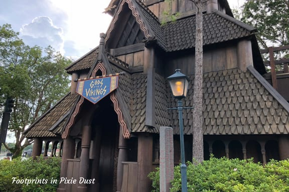 Stave Church found in Norway Pavilion at Epcot