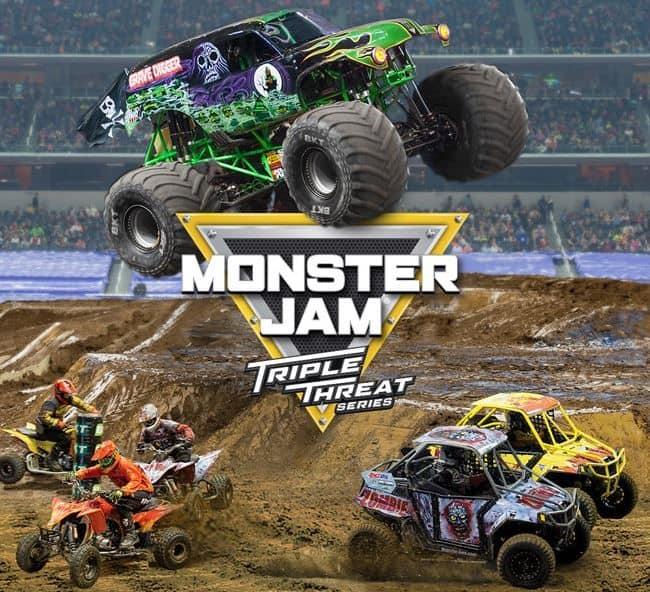 Triple Theat Image ~ Photo credit: Feld Motor Sports.