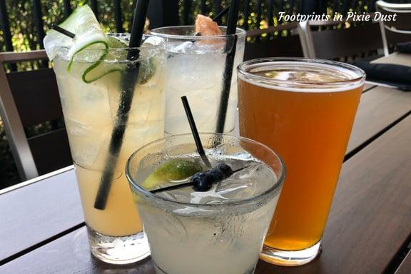 Variety of drinks at Marlow's tavern ~ photo credit: Tina M. Brown