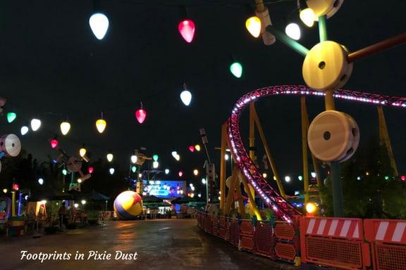 Walking Through Toy Story Land ~ Photo credit by Tina M. Brown