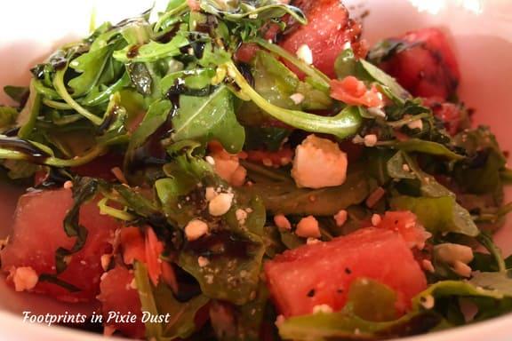 Watermelon salad at Marlow's Tavern ~ photo credit: Tina M. Brown