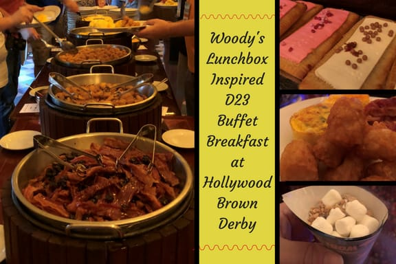 Woody's Lunchbox Inspired Buffet Breakfast ~ Photo credit: Tina M. Brown