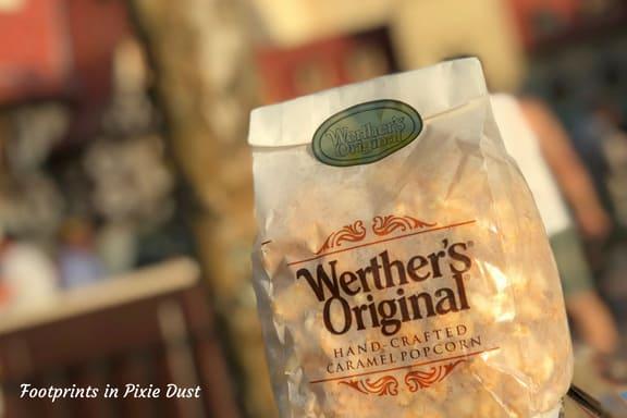 Caramel popcorn at Epcot ~ Photo credit: Tina M. Brown