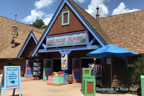 Beach Haus at Blizzard Beach ~ Photo credit: Tina M. Brown