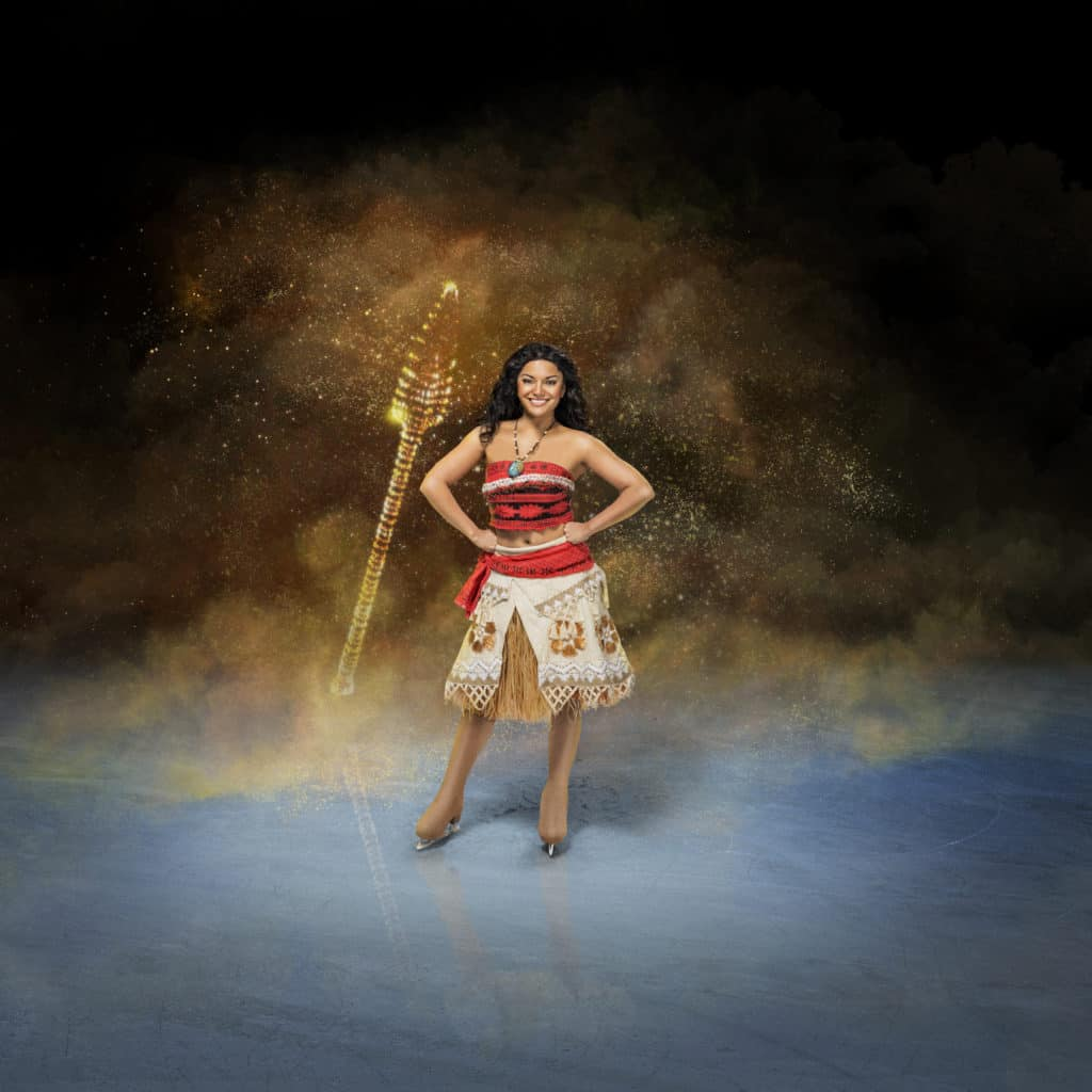 Moana from Disney on Ice: Mickey's Search Party ~ Photo credit: Feld Entertainment