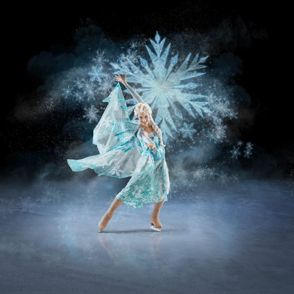 Elsa from Disney on Ice: Mickey's Search Party ~ Photo credit: Feld Entertainment