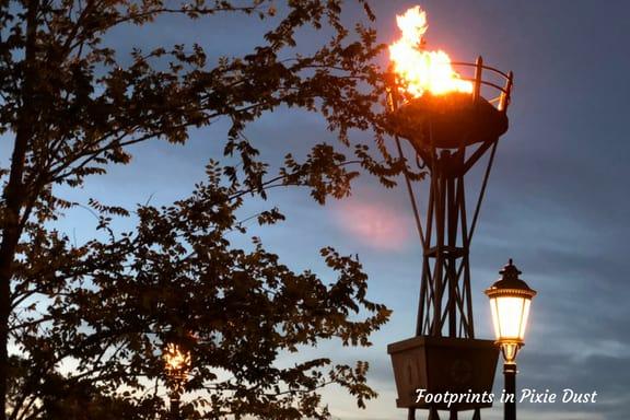 Epcot Torch ~ Photo credit: Tina M. Brown
