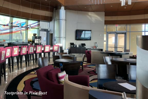 Inside Top of the World Lounge ~ Photo credit: Tina M. Brown