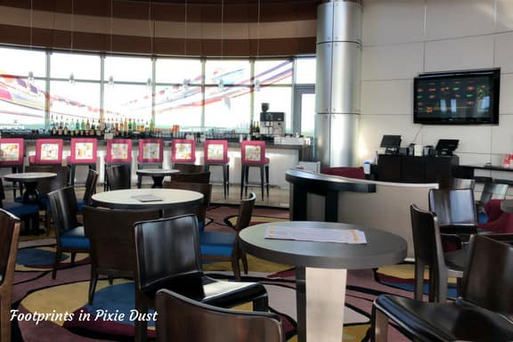 Inside the Top of the World Lounge ~ Photo credit: Tina M. Brown