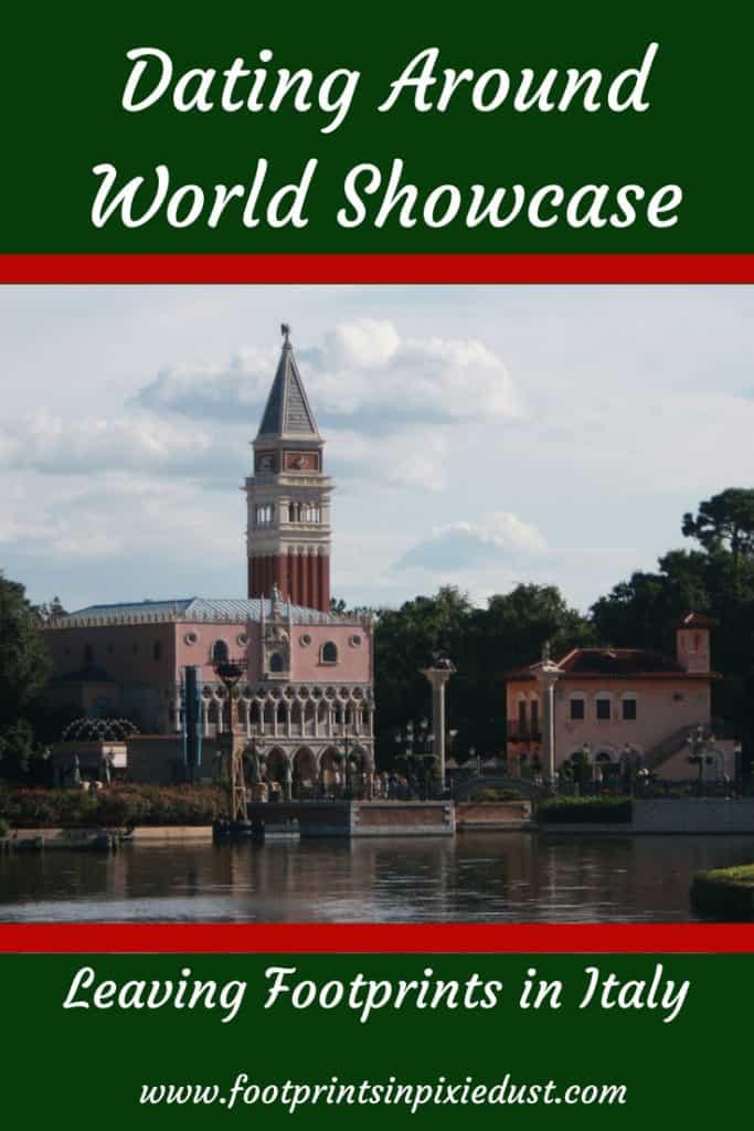 Dating Around World Showcase: Leaving Footprints in Italy ~ #disneydate #disneysmmc #disneycouple #disneydining #epcot #datingaroundworldshowcase #fpipd #wdw #waltdisneyworld #visitFL #Italy #worldshowcase