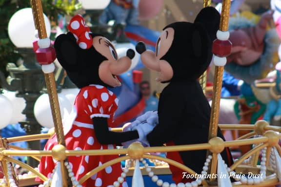 Mickey Mouse and Minnie Mouse ~ Photo credit: Tina M. Brown