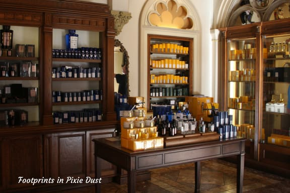 Perfume selection ~ Photo credit: Tina M. Brown