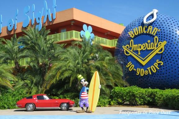 Disney's Pop Century Resort ~ Photo credit: Tina M. Brown