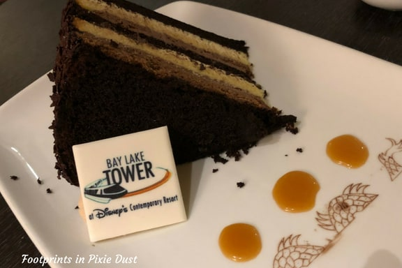Seven Layer Cake at Top of the World Lounge ~ Photo credit: Tina M. Brown