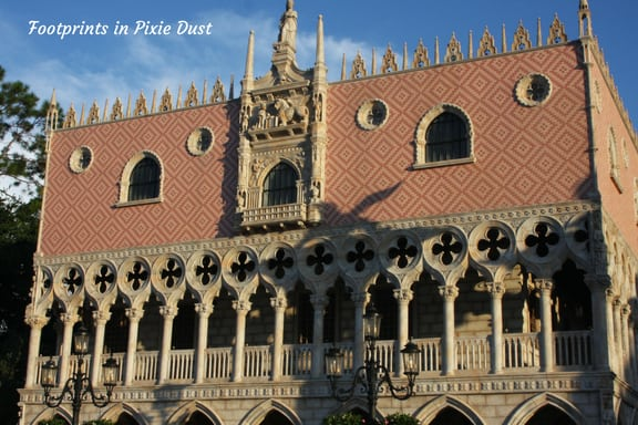 Replica of Doge's palace ~ Photo credit: Tina M. Brown