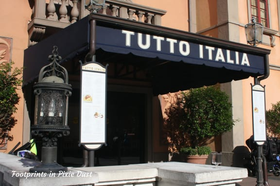 Tutto Italia Ristorante ~ Photo credit: Tina M. Brown