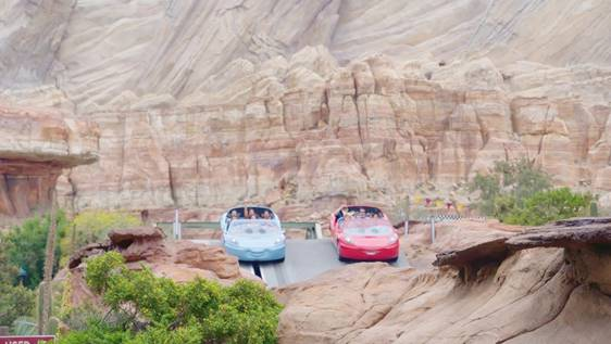Cars Land at Disneyland ~ Photo Courtesy of Get Away Today