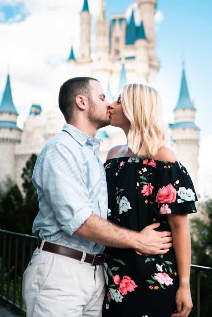 The newly engaged couple ~ Photo courtesy of Katie & Dustin