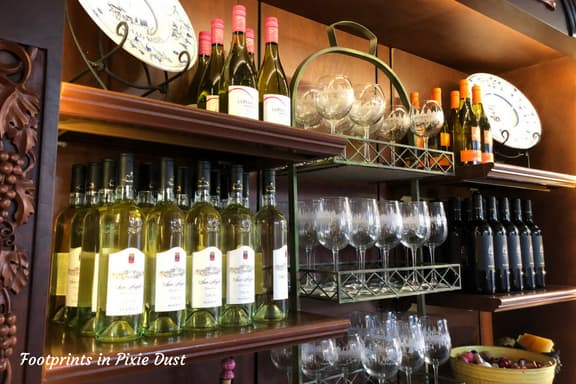 Wine selection for purchase ~ Photo credit: Tina M. Brown