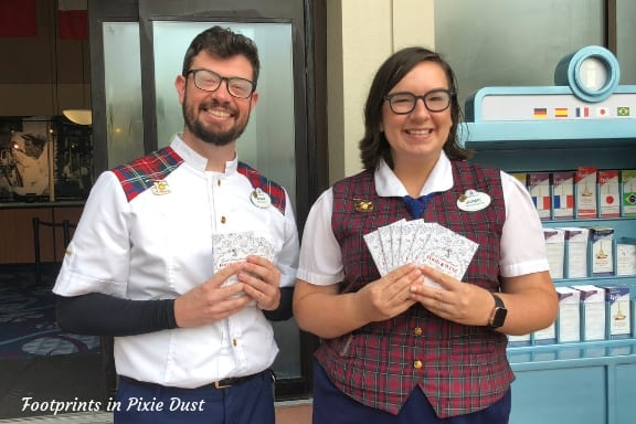 Cast Members with Passports ~ Photo credit: Tina M. Brown