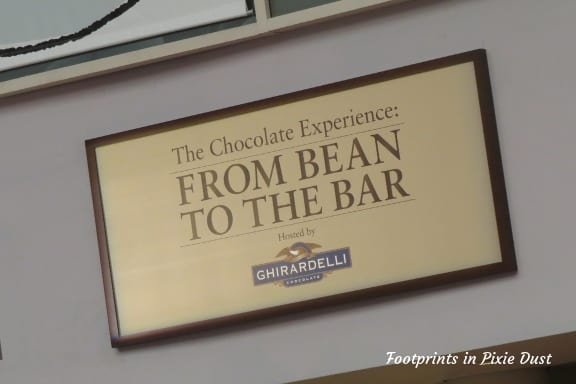 From Bean to Bar sign ~ Photo credit: Logan M. Brown