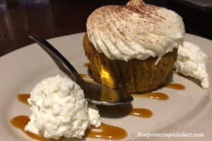 Seasonal Pumpkin Spice Cupcake ~ Photo credit: Tina M. Brown