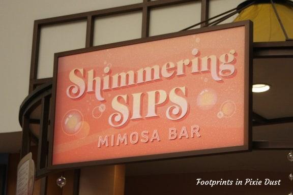 Shimmering Sips Mimosa Bar ~ Photo credit: Tina M. Brown