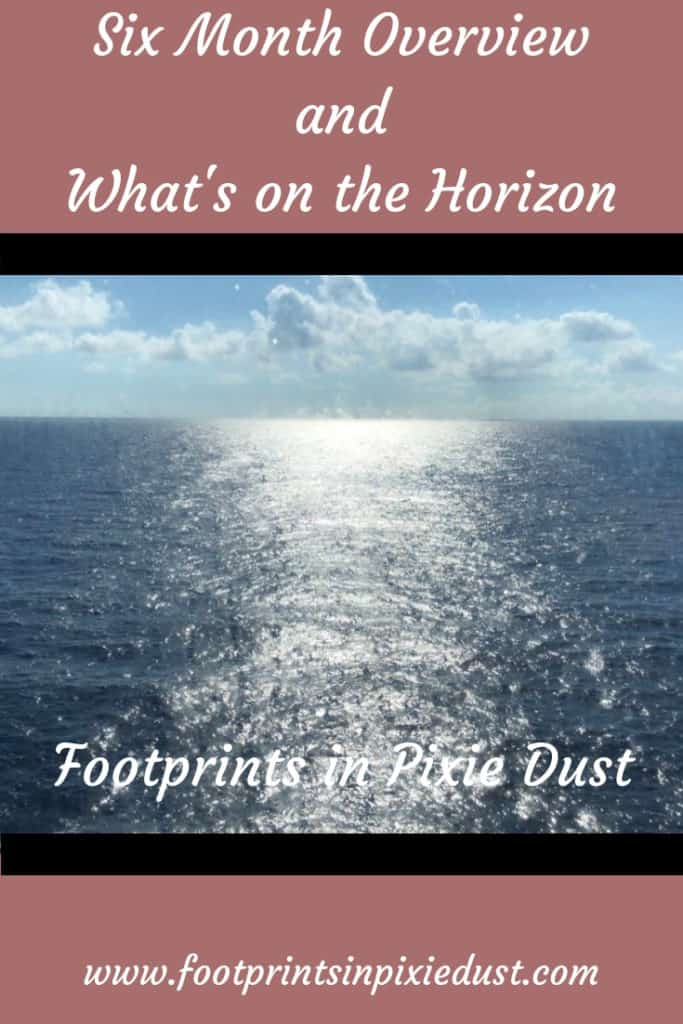 Six Month Footprints in Pixie Dust Blog Overview: #blogreview #whatsonthehorizon #fpipd #footprintsinpixiedust #blog