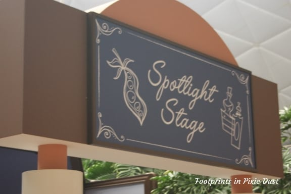 Spotlight Stage sign ~ Photo credit: Tina M. Brown