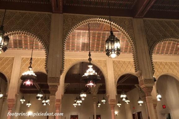 Arches in Restaurant Marrakesh