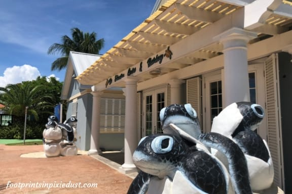 Hatchery building at Cayman Turtle Centre