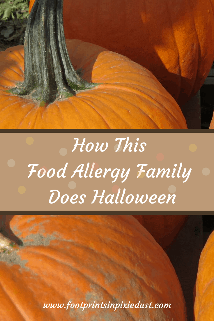 How this food allergy family does Halloween - Pumpkins from a pumpkin patch