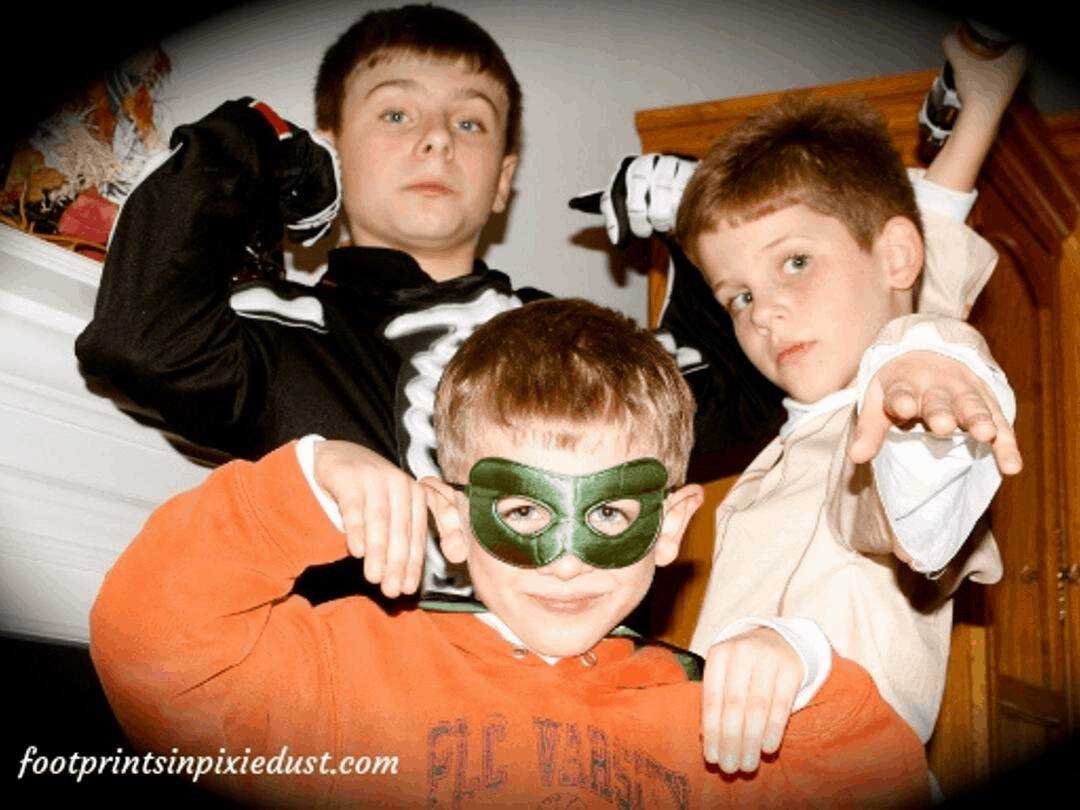 How We Manage Food Allergies on Halloween - The Boys in Costume