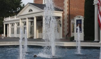 Fountain in American Adventure