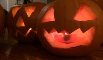 Jack-o-lanterns ~ Photo credit: Tina M. Brown