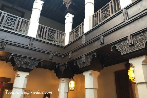 Inside the Fez House in Morocco Pavilion at Epcot ~ Photo credit: Tina M. Brown