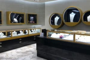 Jewelry section of the store in Japan Pavilion ~ Photo credit: Tina M. Brown