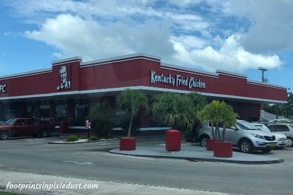 Kentucky Fried Chicken on Grand Cayman ~ Photo credit: Tina M. Brown